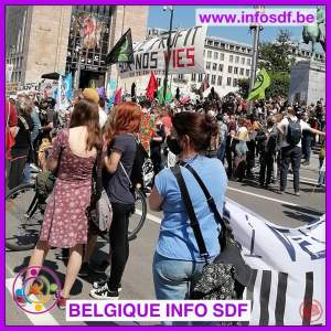 Mobilisation du secteur de la santé à Bruxelles !